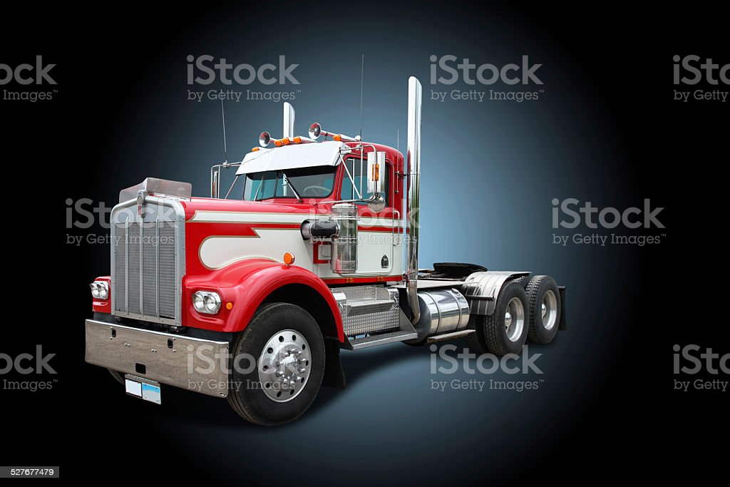 Truck -  Kenworth Semi Tractor stock photo