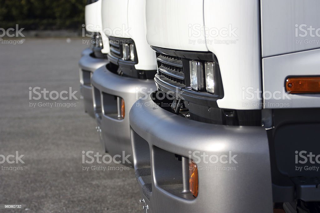 Linea di camion foto stock royalty-free