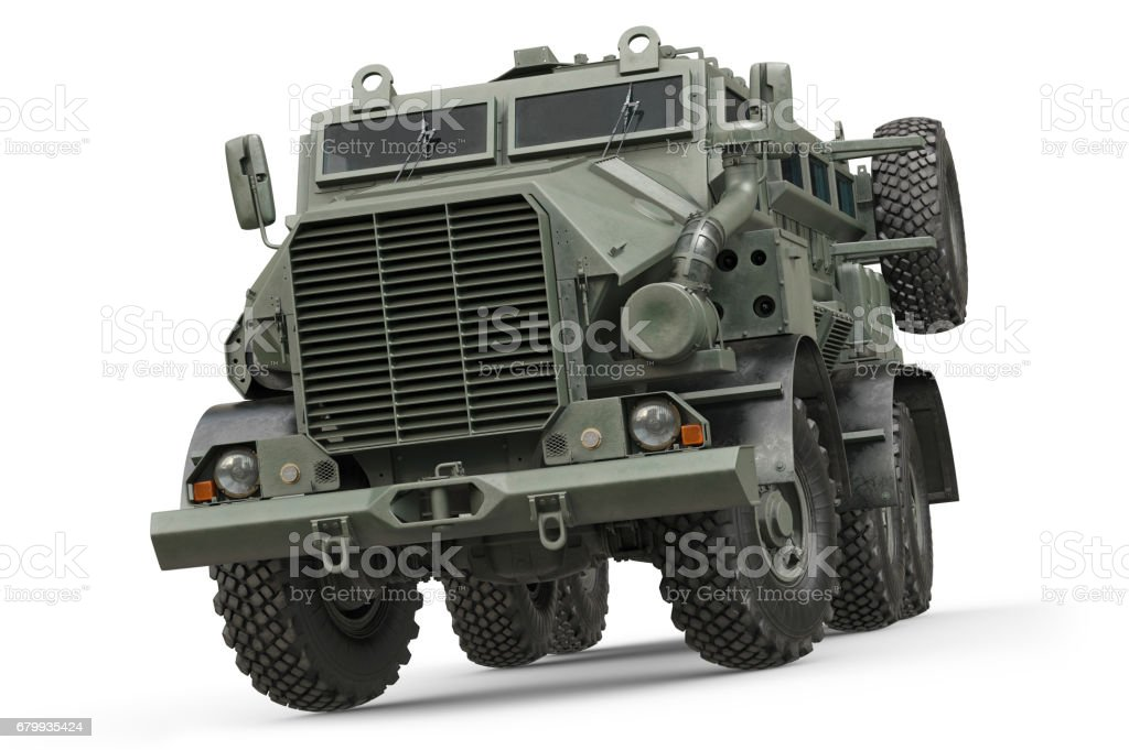 Truck military army transport stock photo