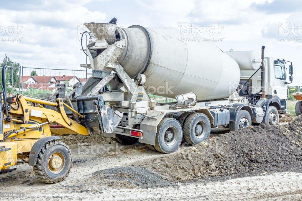 mixer бетон