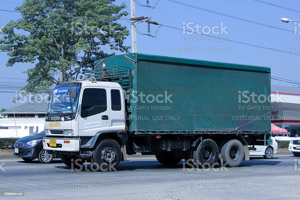 Truck of TBL. stock photo
