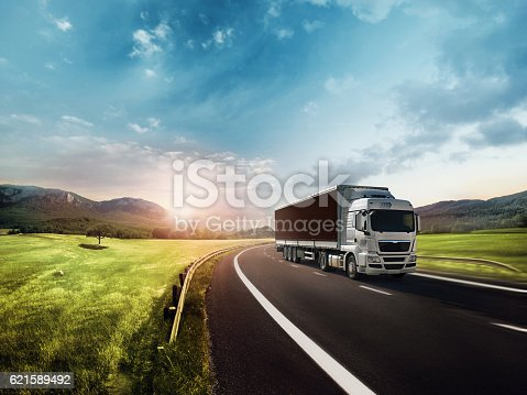 On The Move, Truck, Truck on the road.