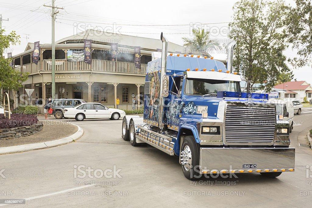 Truck Parade royalty-free stock photo