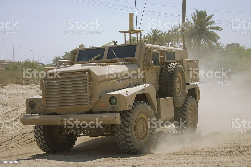 IED Truck stock photo