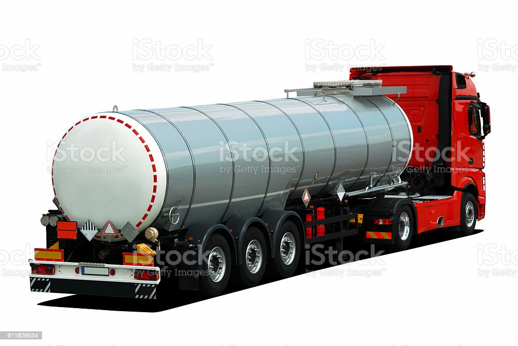 Truck tank stock photo