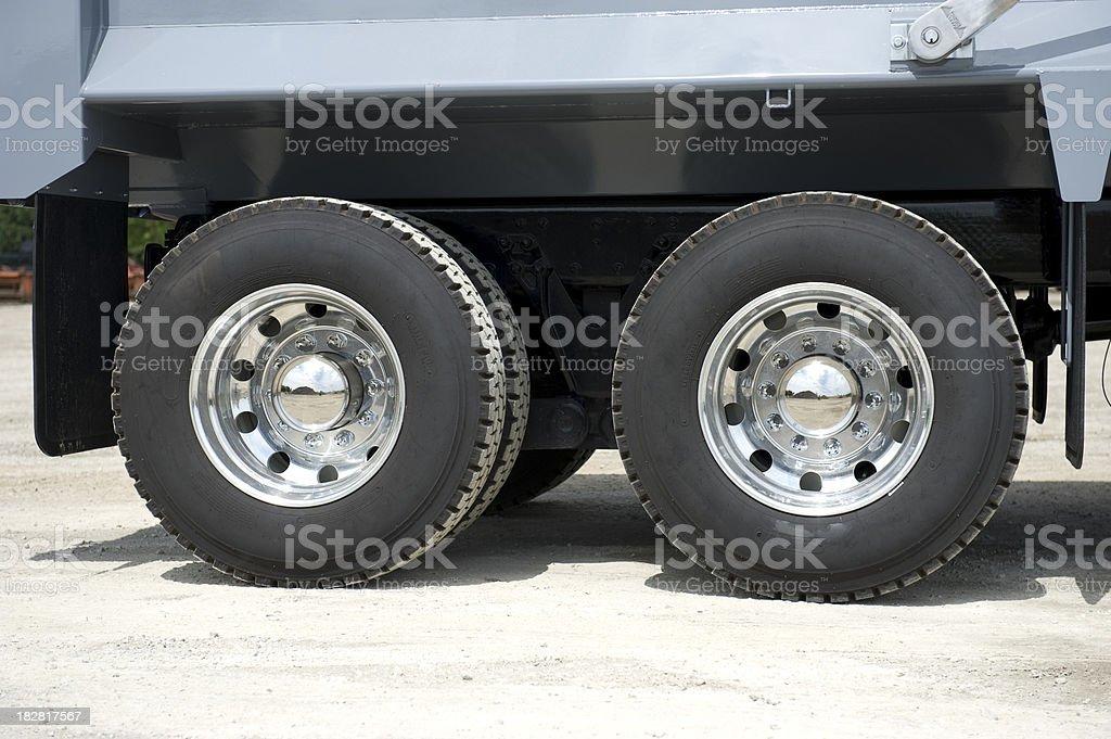 truck tire mag rim, pneu roue camion royalty-free stock photo