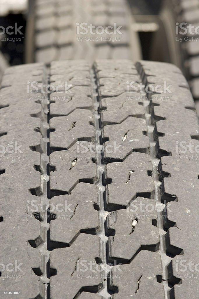 Truck Tire treads royalty-free stock photo