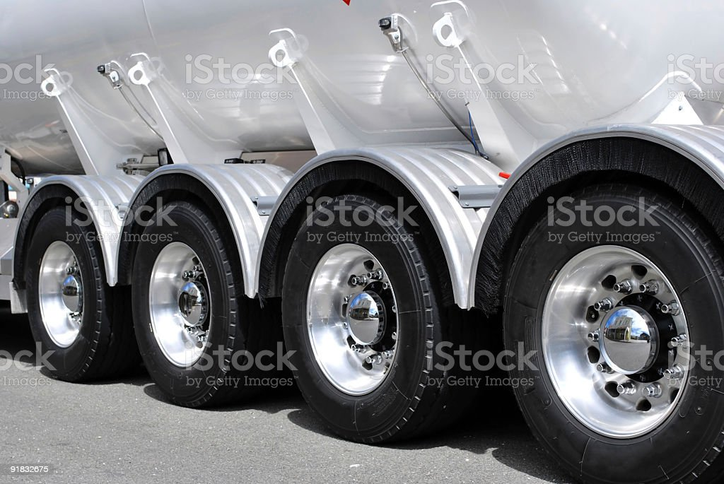 Truck tires royalty-free stock photo