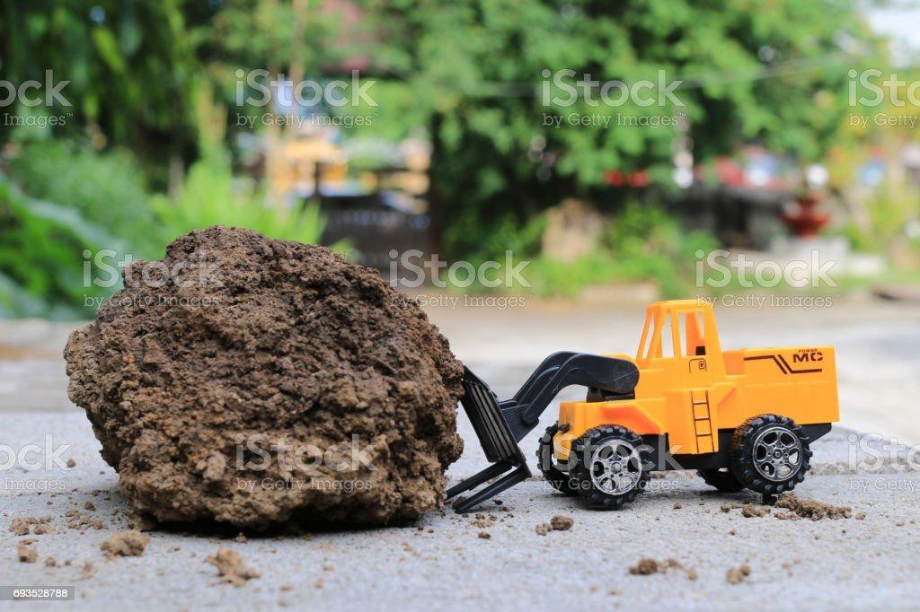 Sable Photo Libre Droit Avec Camion Voiture Jouet Terre De Et SVzqMLGUp