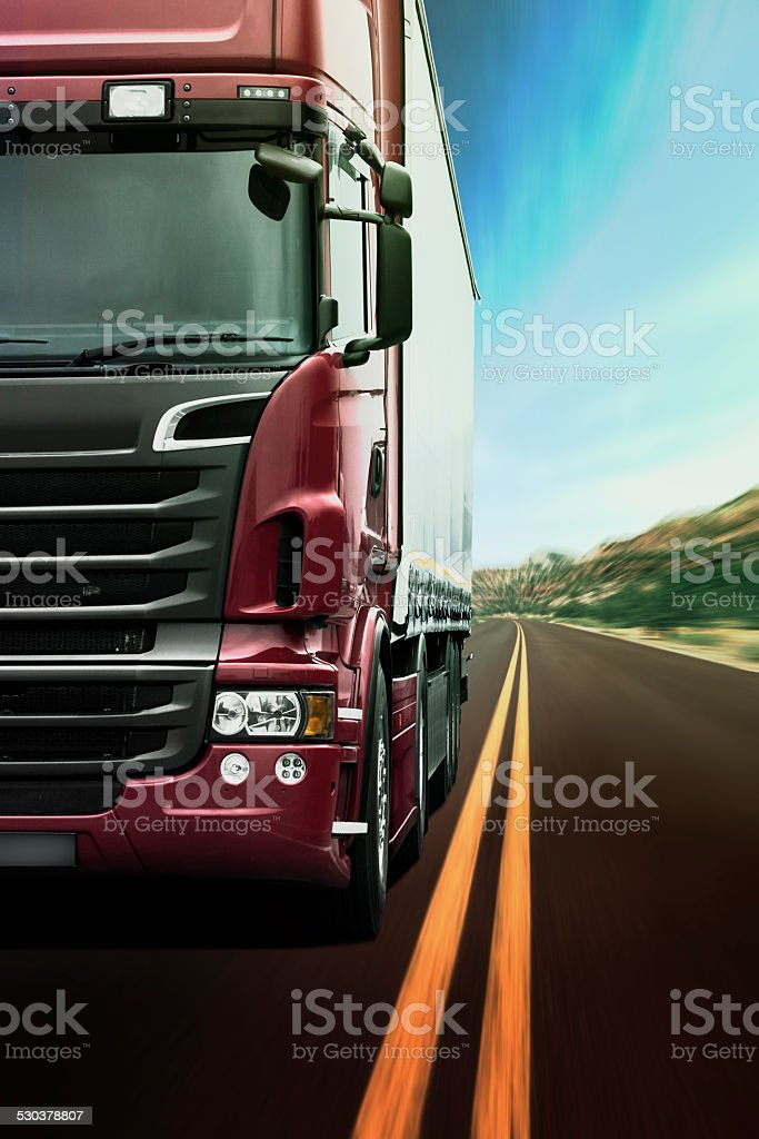 Lkw-Transport – Foto