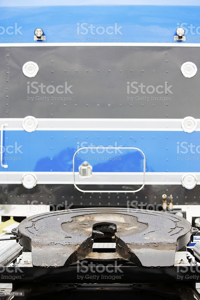 Truck Turntable royalty-free stock photo