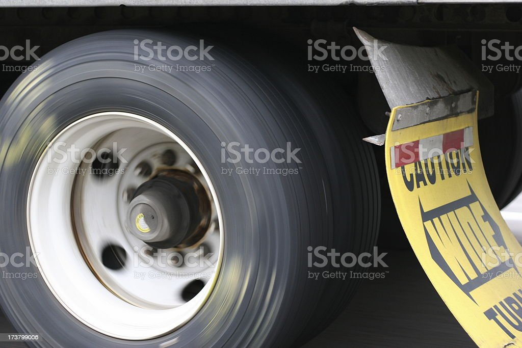 Truck Wheel royalty-free stock photo