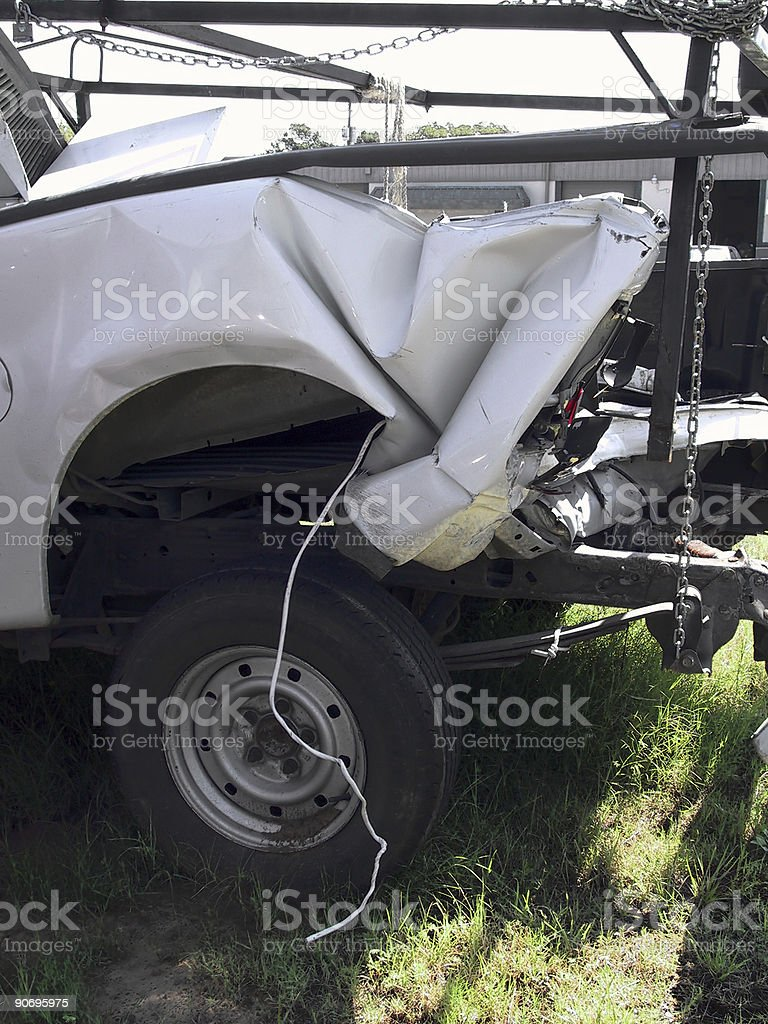 Truck Wreck 3 stock photo