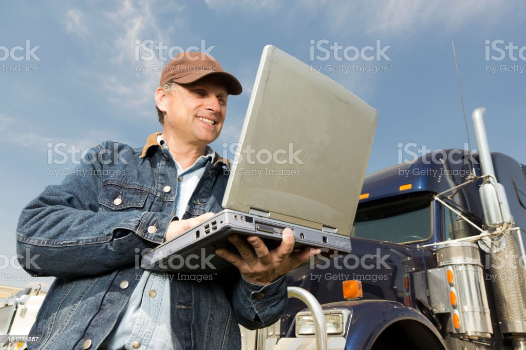 Truckin and Surfin royalty-free stock photo