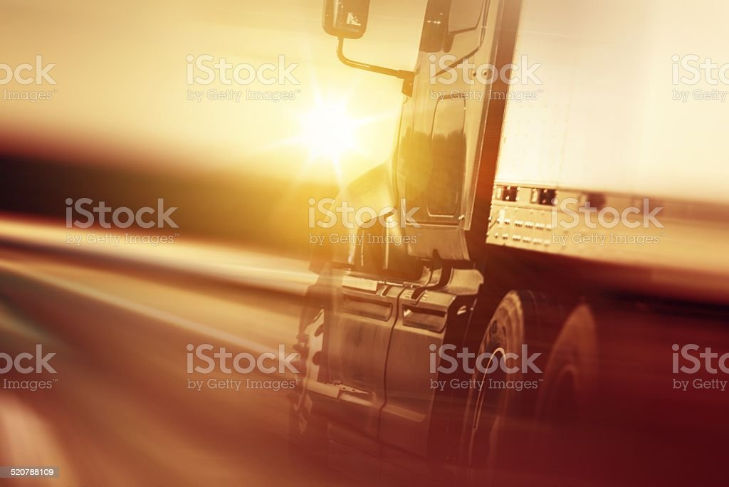 Trucking Business Concept stock photo