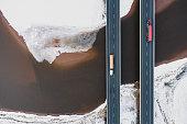 istock Trucking In Winter 1299282792