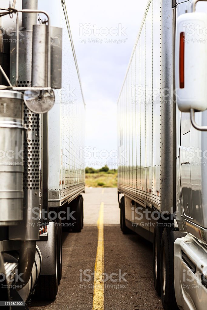 Trucking Industry stock photo