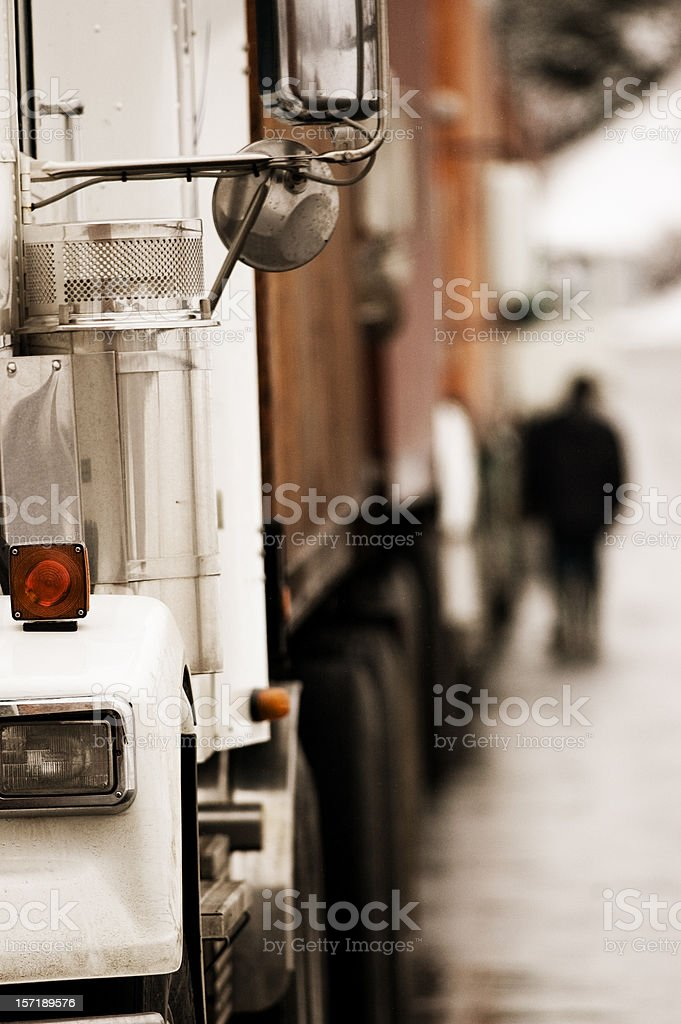 Trucking royalty-free stock photo