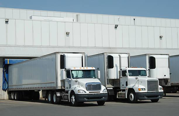 Trucks at loading dock picture id172899265?b=1&k=6&m=172899265&s=612x612&w=0&h=yj31echgumw9r9h xea rklslykr0l 9ztzzzeqgq8y=