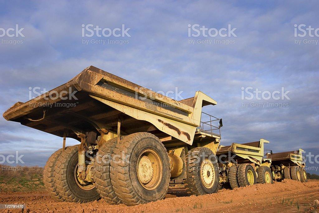 Trucks on Parade royalty-free stock photo
