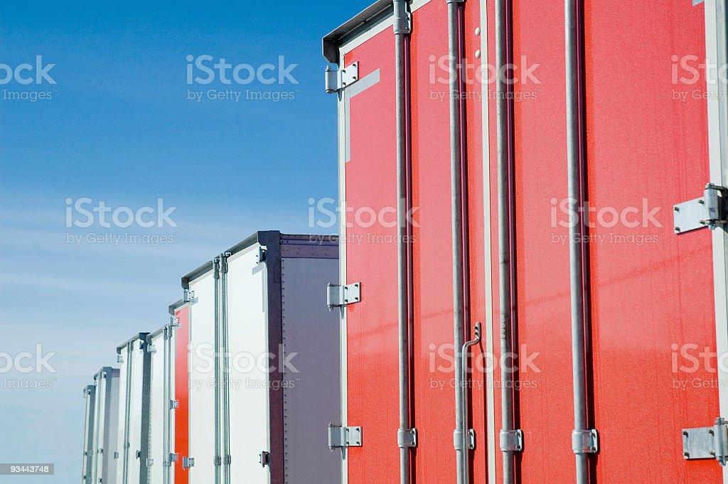 LKWs Lizenzfreies stock-foto