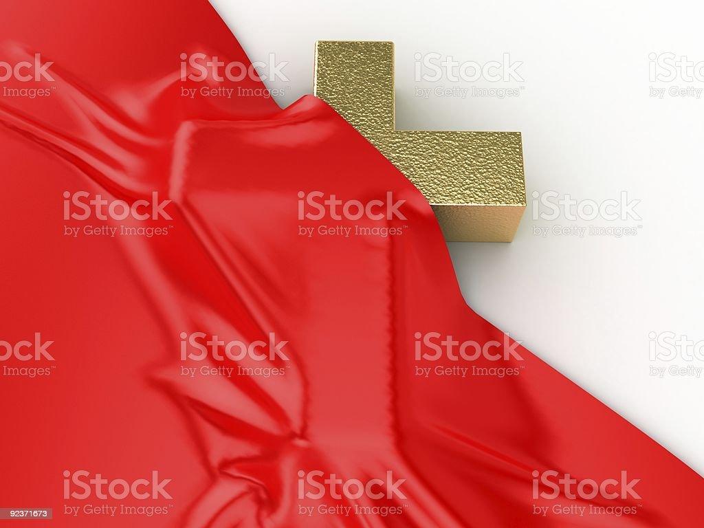 True Cross royalty-free stock photo