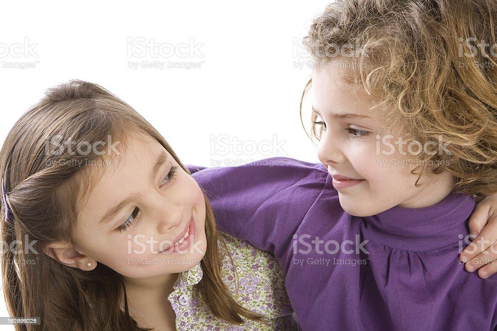 True friendship royalty-free stock photo