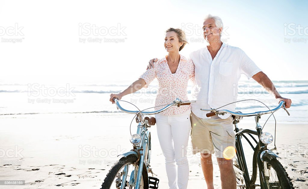 True love has no expiration date stock photo