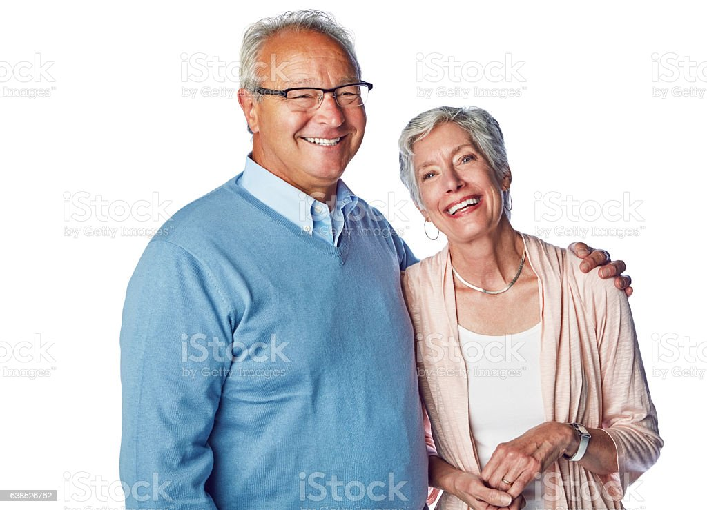 True love is ageless stock photo