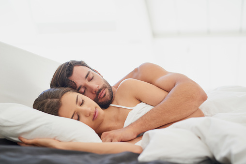 973962076 istock photo True love is being happy even when you're sleeping 810704694