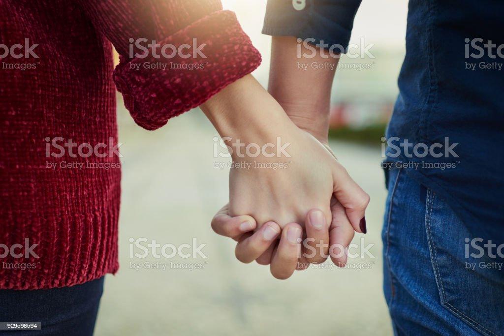 Wahrer Liebe bedeutet nie loslassen – Foto
