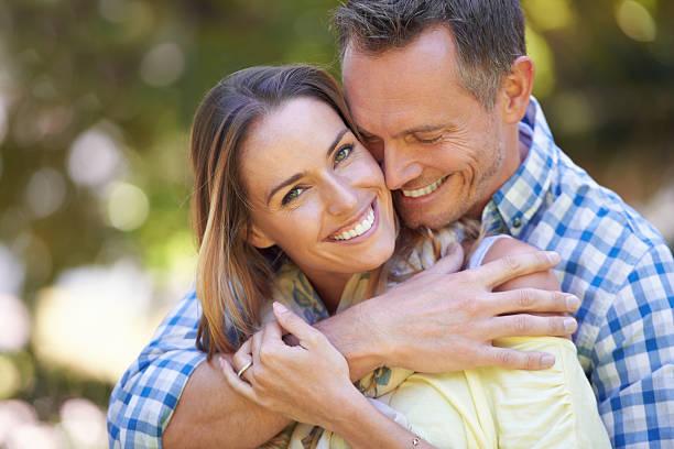 true love - middle aged man dating bildbanksfoton och bilder
