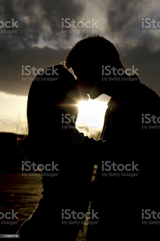 True loves kiss royalty-free stock photo