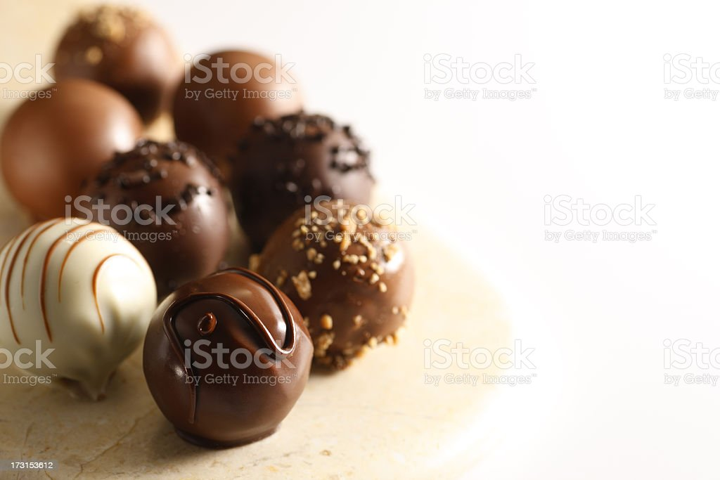 Truffles stock photo