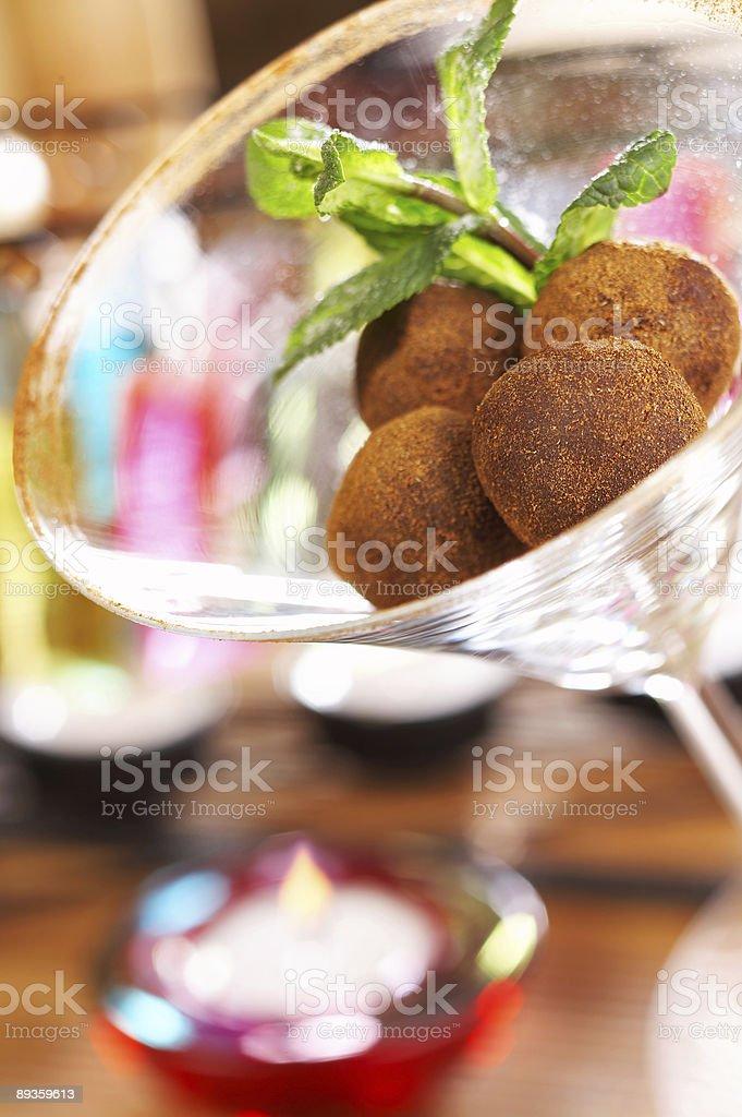 Truffles royaltyfri bildbanksbilder