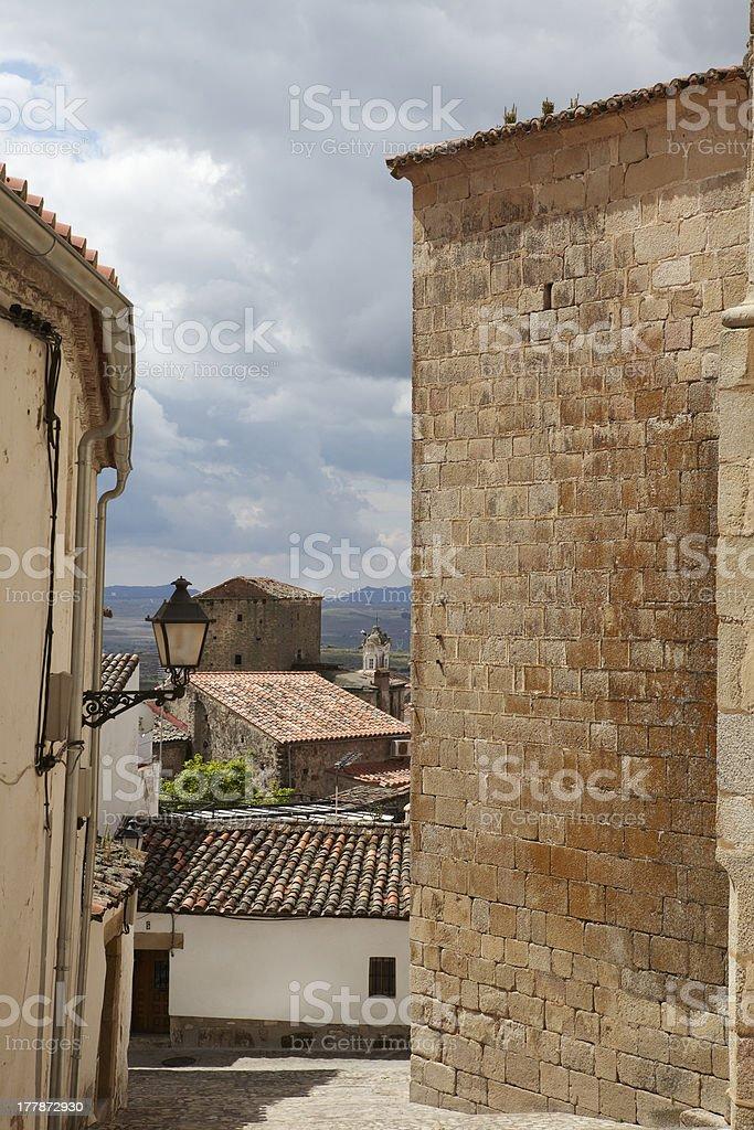 Trujillo, Cáceres stock photo