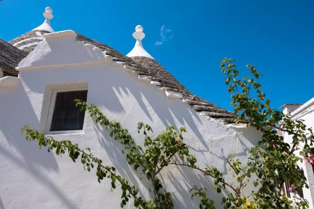 Trulli houses in Alberobello, Italy stock photo