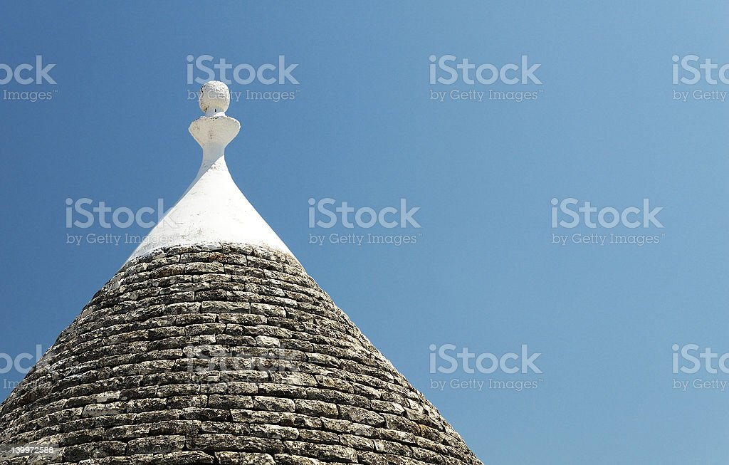 Trullo in valle D'Itria royalty-free stock photo