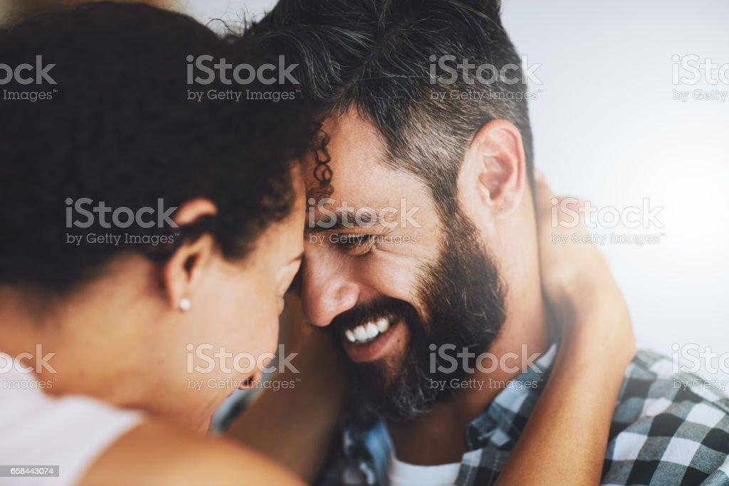 Wirklich, wie verrückt, tief in der Liebe – Foto