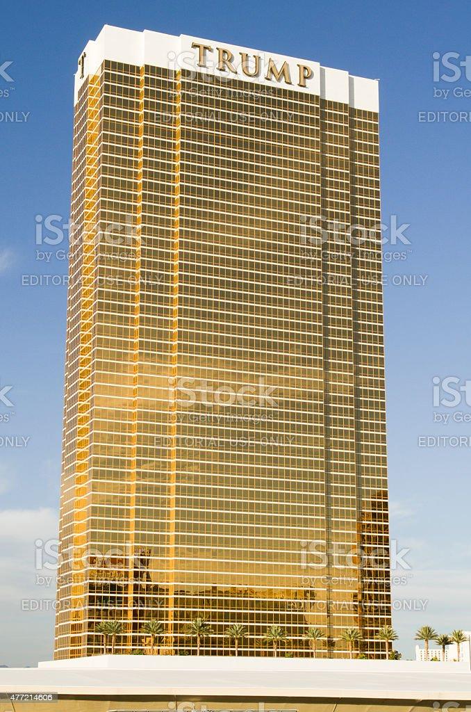 Trump International Hotel tower stock photo