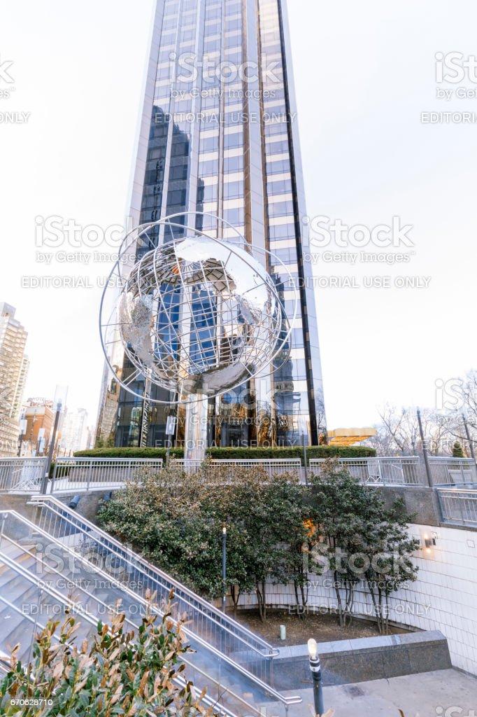 Trump International Hotel & Tower. stock photo
