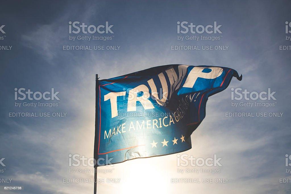 Trump stock photo