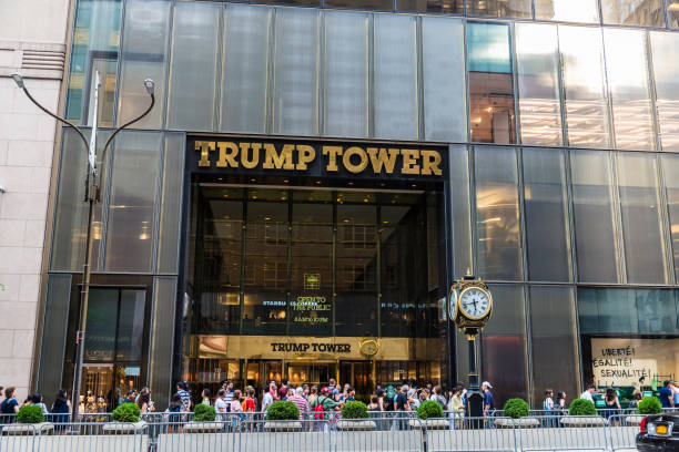 Trump Tower in New York City, Verenigde Staten​​​ foto