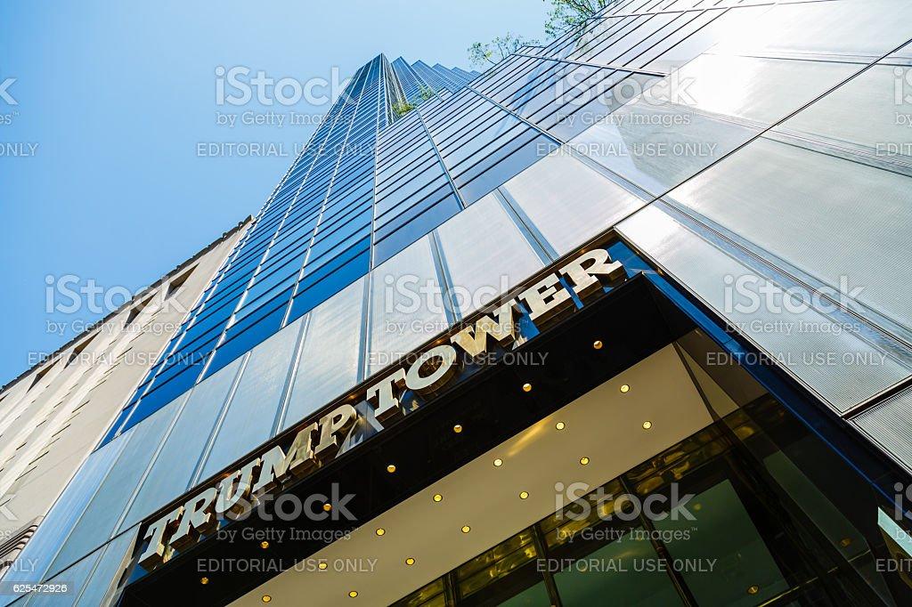 Trump Tower skyscraper on Fifth Avenue, New York City, USA – Foto