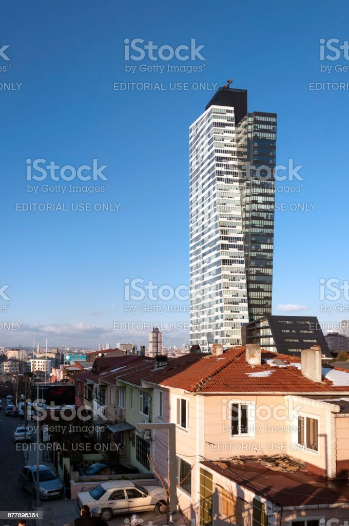Trump Towers Istanbul Royalty Free Stock Photo