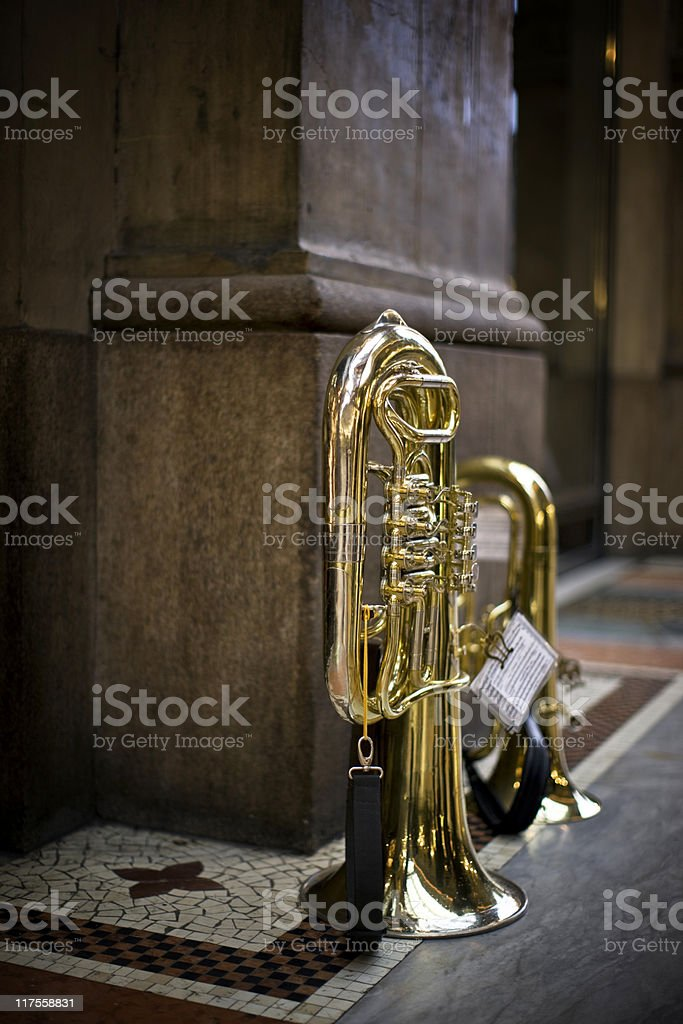 Trumpet. Color Image royalty-free stock photo
