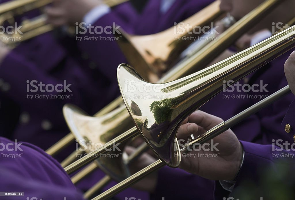 Trumpet Concert royalty-free stock photo