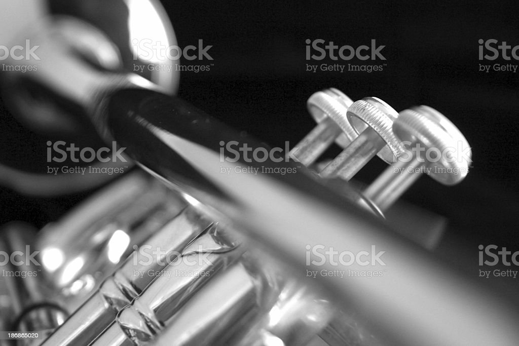 Trumpet Down Bell stock photo