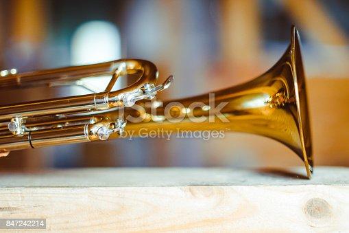 istock trumpet musical instrument 847242214
