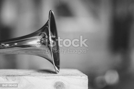 istock trumpet musical instrument 848196458